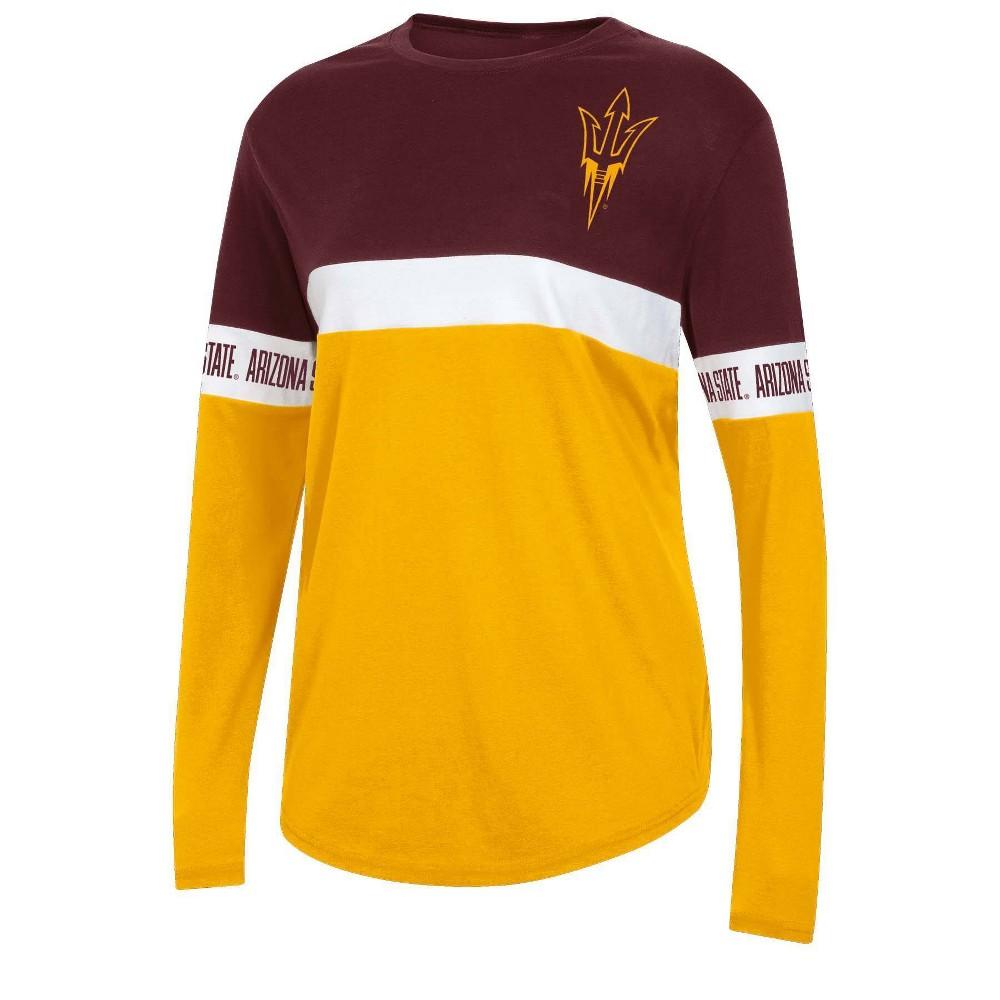 Ncaa Arizona State Sun Devils Women 39 S Long Sleeve T Shirt L