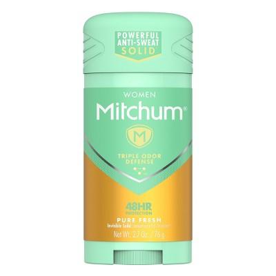 Mitchum Women's Advanced Control Antiperspirant & Deodorant Stick - Pure Fresh - 2.7oz
