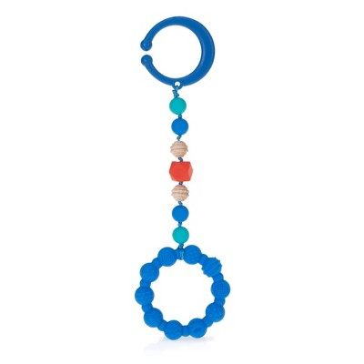 Nuby Tag-A-Long Teether - Blue