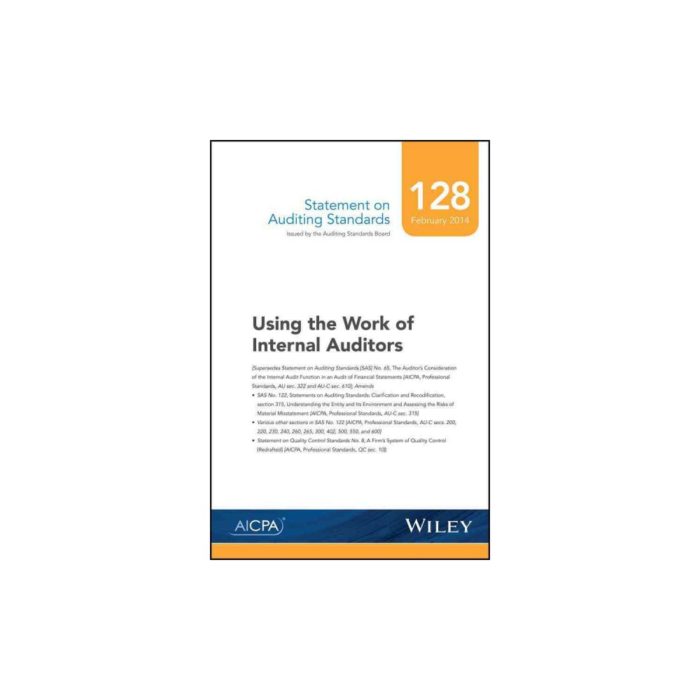 Using the Work of Internal Auditors (Paperback)