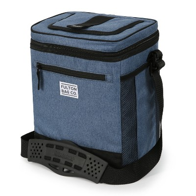 Fulton Bag Co. 12 Can Cooler with Liner - Dutch Blue