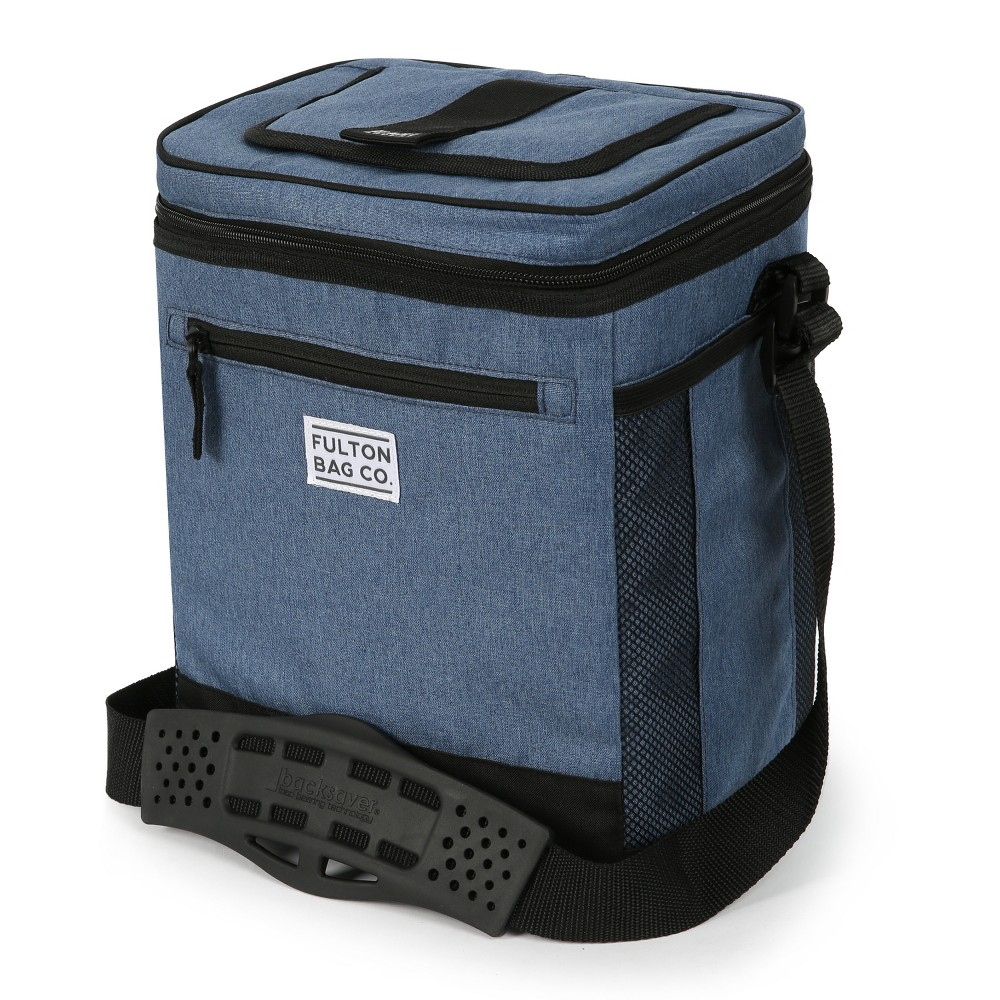 Image of Fulton Bag Co. 12qt Can Cooler with Liner - Dutch Blue