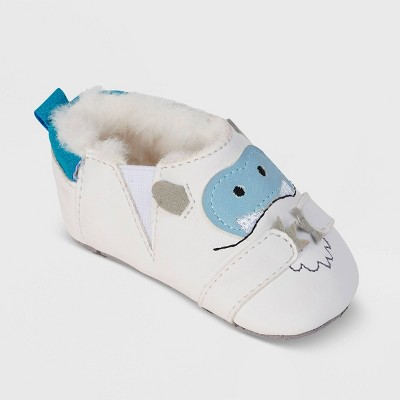 Ro+Me by Robeez Baby Yeti Crib Shoes - 0-6M