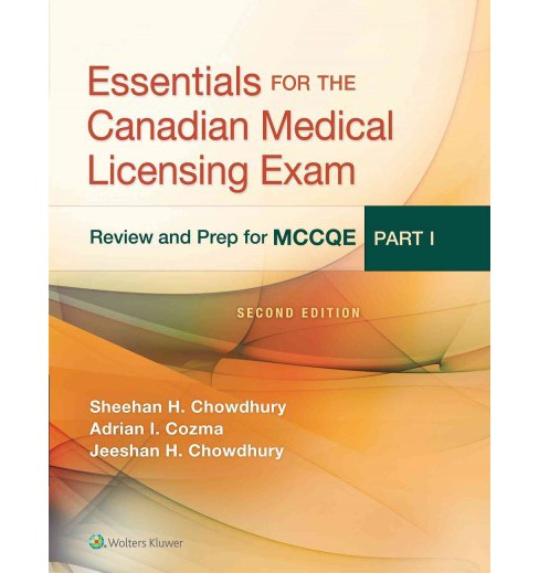 Essentials for the Canadian Medical Licensing Exam : Review and Prep for Mccqe (Paperback) (M.D. Sheehan - image 1 of 1