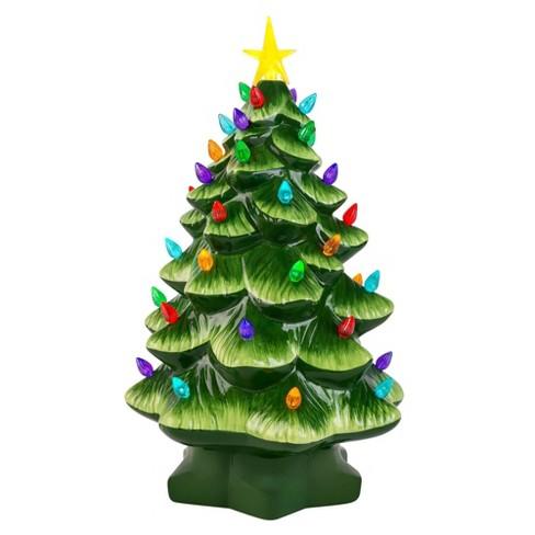 Mr. Christmas Large Ceramic Tree Decorative Figurine Green - image 1 of 2