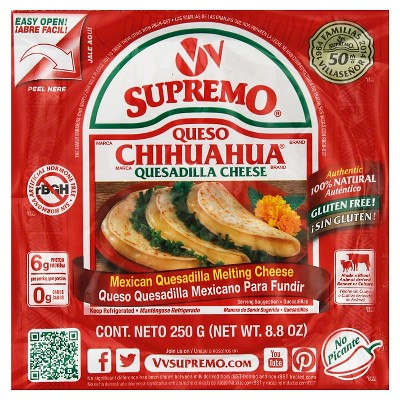 V&V Supremo Chihuahua Quesadilla Cheese - 8.8oz