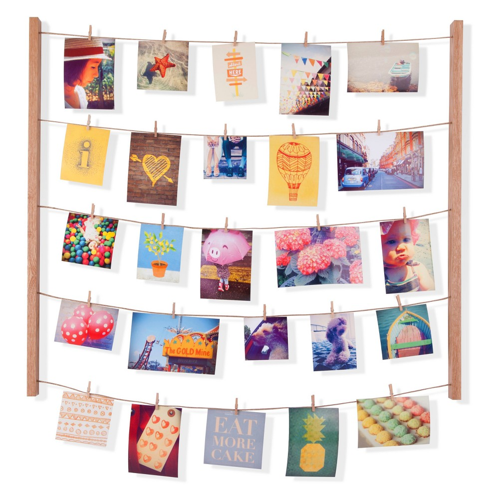Hangit Photo Display - Natural - Umbra, Light Brown