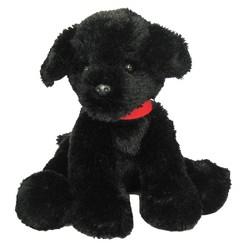 "First & Main Pup-E-Dog Plush Toy - Black (7"")"