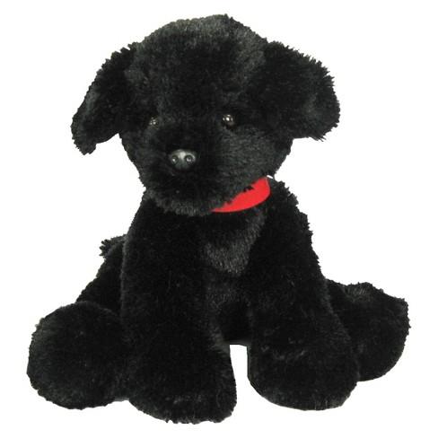 First Main Pup E Dog Plush Toy Black 7 Target