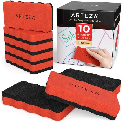Arteza Magnetic Erasers - Set of 10