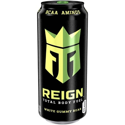 Reign White Gummy Bear Energy Drink - 16 fl oz Can