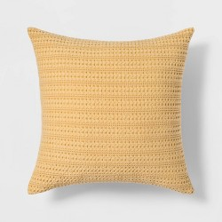 Washed Waffle Throw Pillow - Threshold™