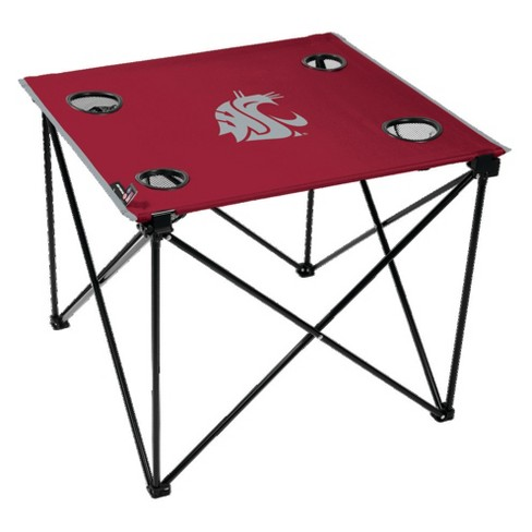 NCAA Washington State Cougars Portable Table - image 1 of 1