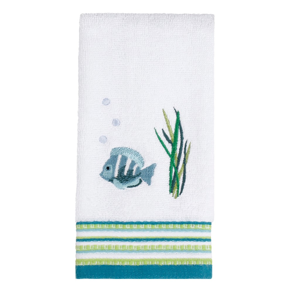 Atlantis Tip Towel Fingertip Towel White - Saturday Knight Ltd.