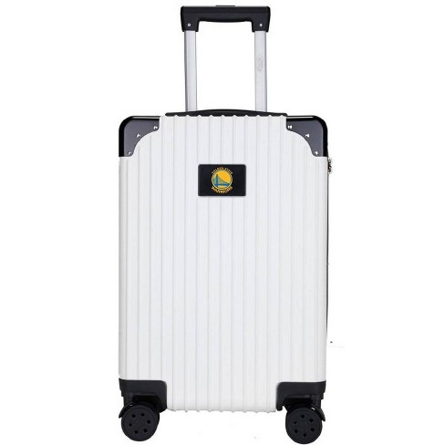 """NBA Golden State Warriors 21"""" Executive Two-Tone Carry On Suitcase - White - image 1 of 4"""