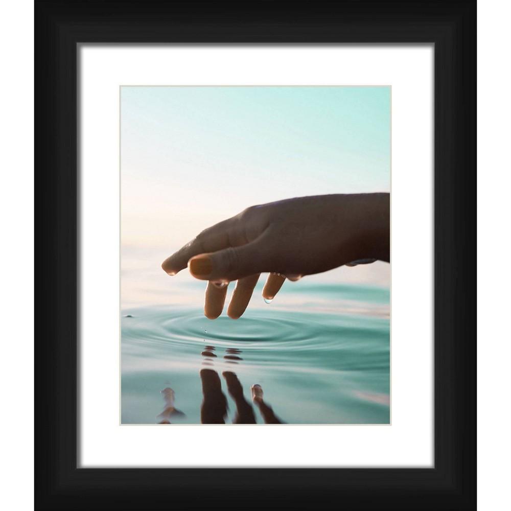 13 34 X 15 34 Matted To 2 34 Finger Tip Picture Framed Black Ptm Images