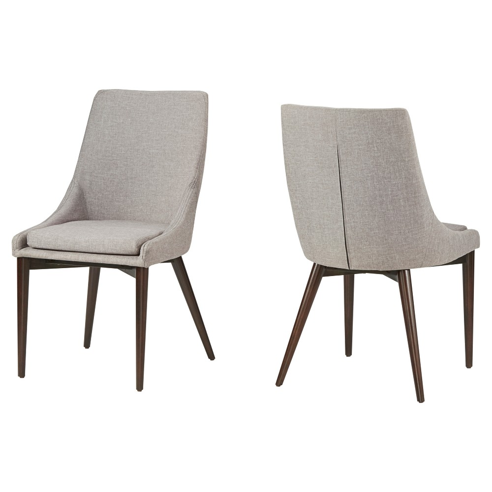 Sullivan Dining Chair - Smoke (Set of 2) - Inspire Q, Gray