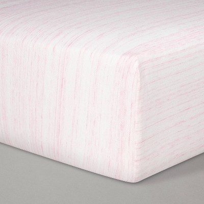 Jersey Fitted Crib Sheet - Cloud Island™ Pink