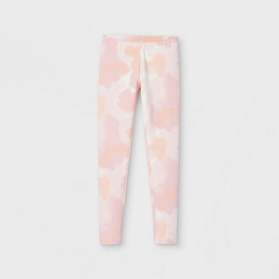 Girls' Tie-Dye Leggings - Cat & Jack™ Pink