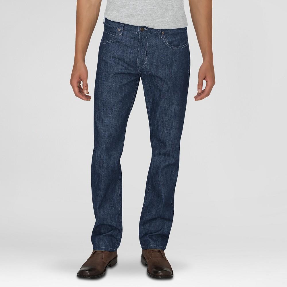 Dickies Men's Regular Fit Straight Leg 5-Pocket Pants W/Button Fly Medium Indigo 30X30, Medium Blue