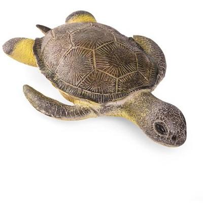 Magic Cabin - Realistic Natural Latex Rubber Play Sea Turtle for Kids