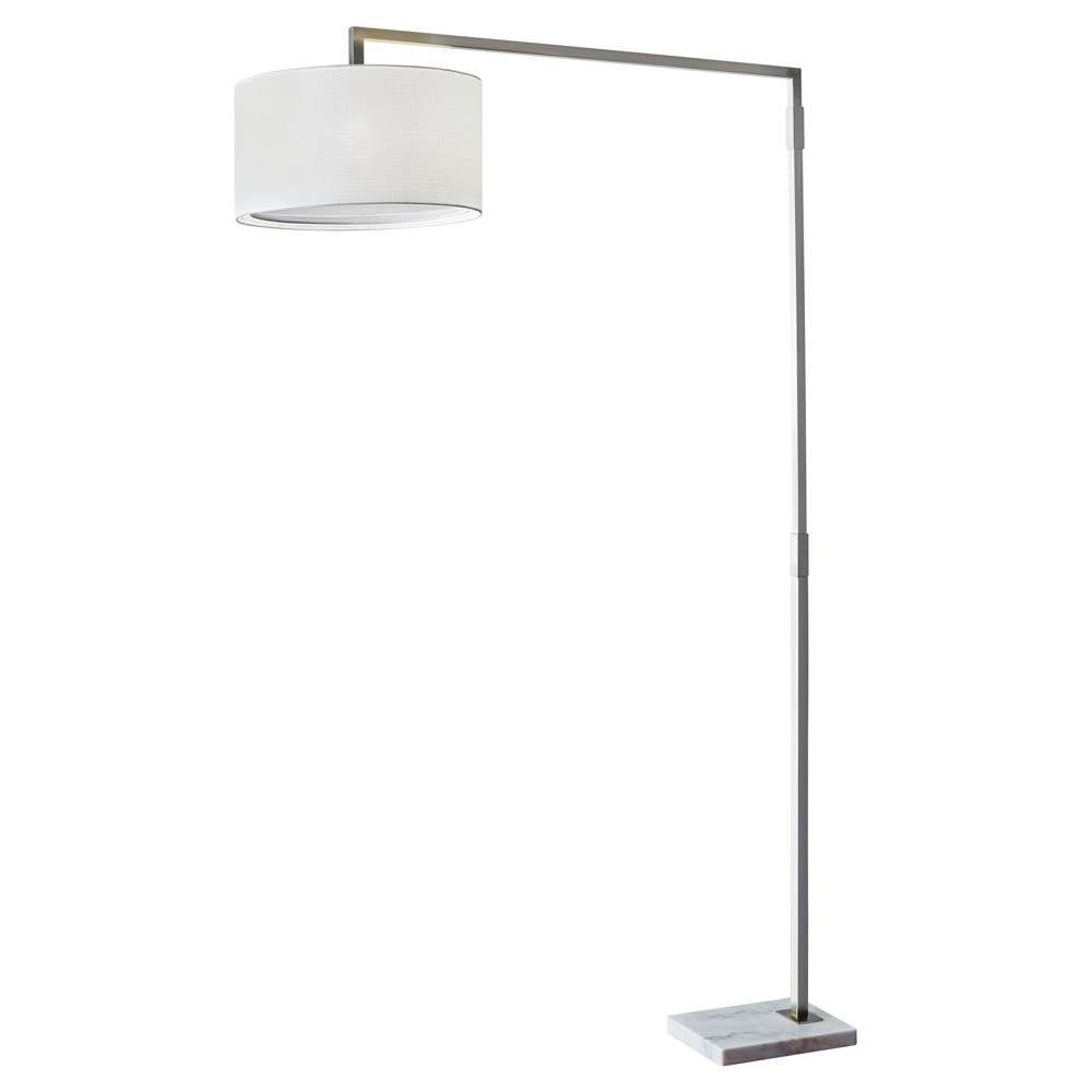 Adesso Delancey Arc Lamp (Lamp Only) - Silver
