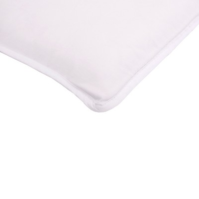 Arm's Reach 100% Cotton Mini Co-Sleeper Sheet - White