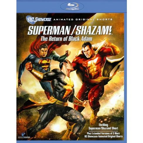 Superman Shazam The Return Of Black Adam Blu Ray Target