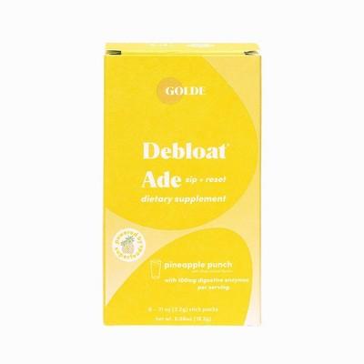 Golde Debloat Ade Pineapple Dietary Supplements - 6ct