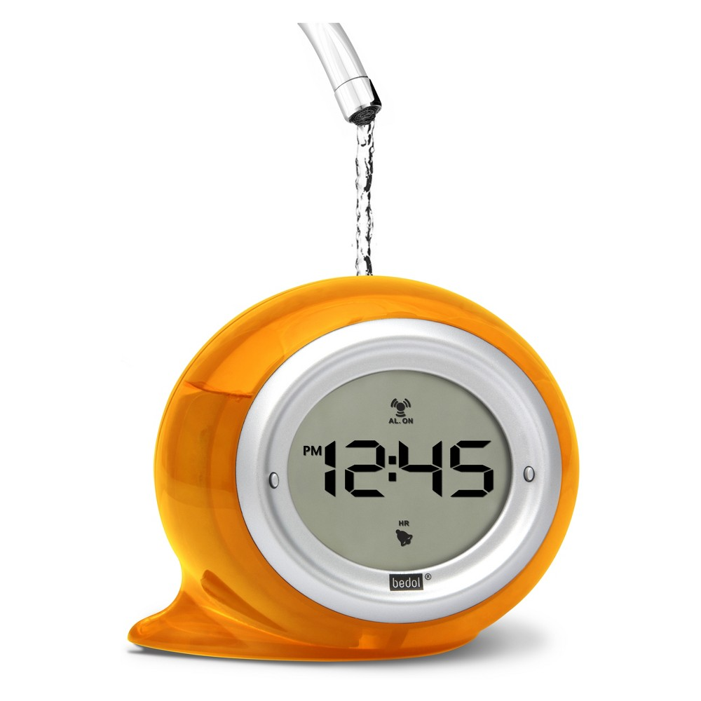 Image of Decorative Water Clock Squirt Orange - Bedol