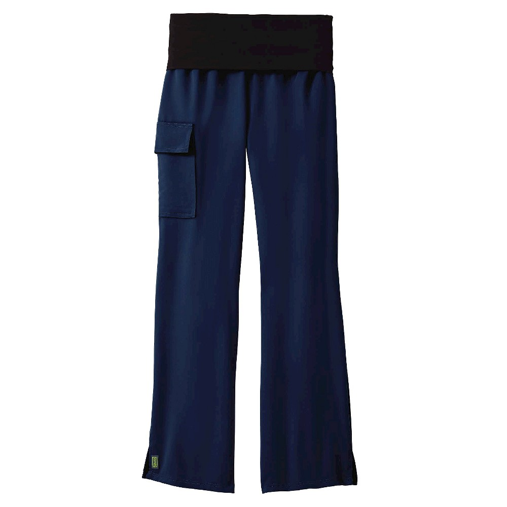 Ocean Ave Yoga Scrub Pants Navy (Blue) Large Tall
