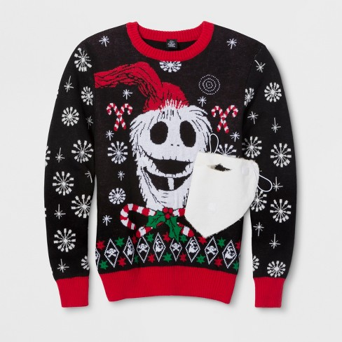 Mens Jack Skellington The Nightmare Before Christmas Long Sleeve
