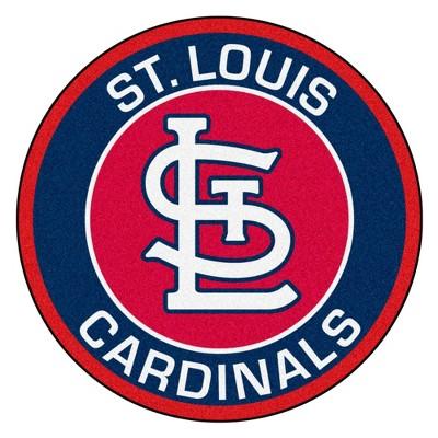 "MLB St. Louis Cardinals 27""x27"" Roundel Rug"