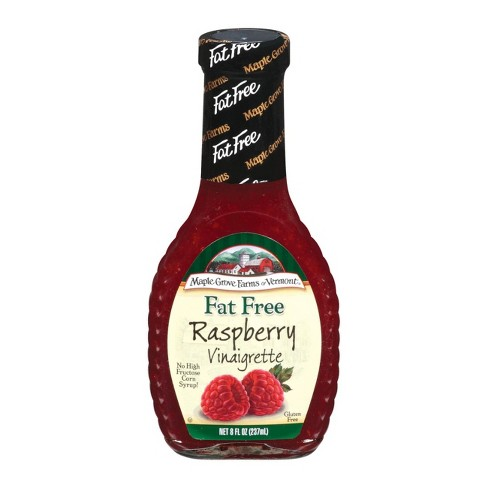 Maple Grove Farms of Vermont Fat Free Raspberry Vinaigrette Dressing - 8oz - image 1 of 1