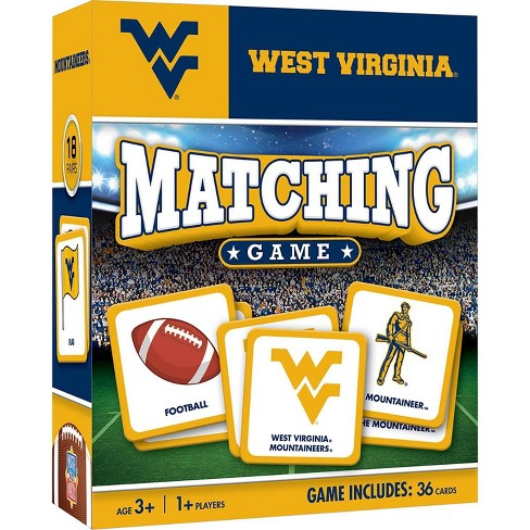 NCAA West Virginia Mountaineers Matching Game - image 1 of 2