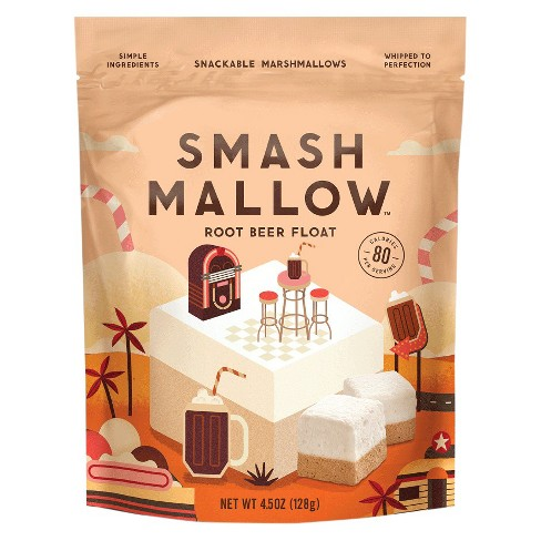 SmashMallow Root Beer Float Marshmallows - 4.5oz - image 1 of 1