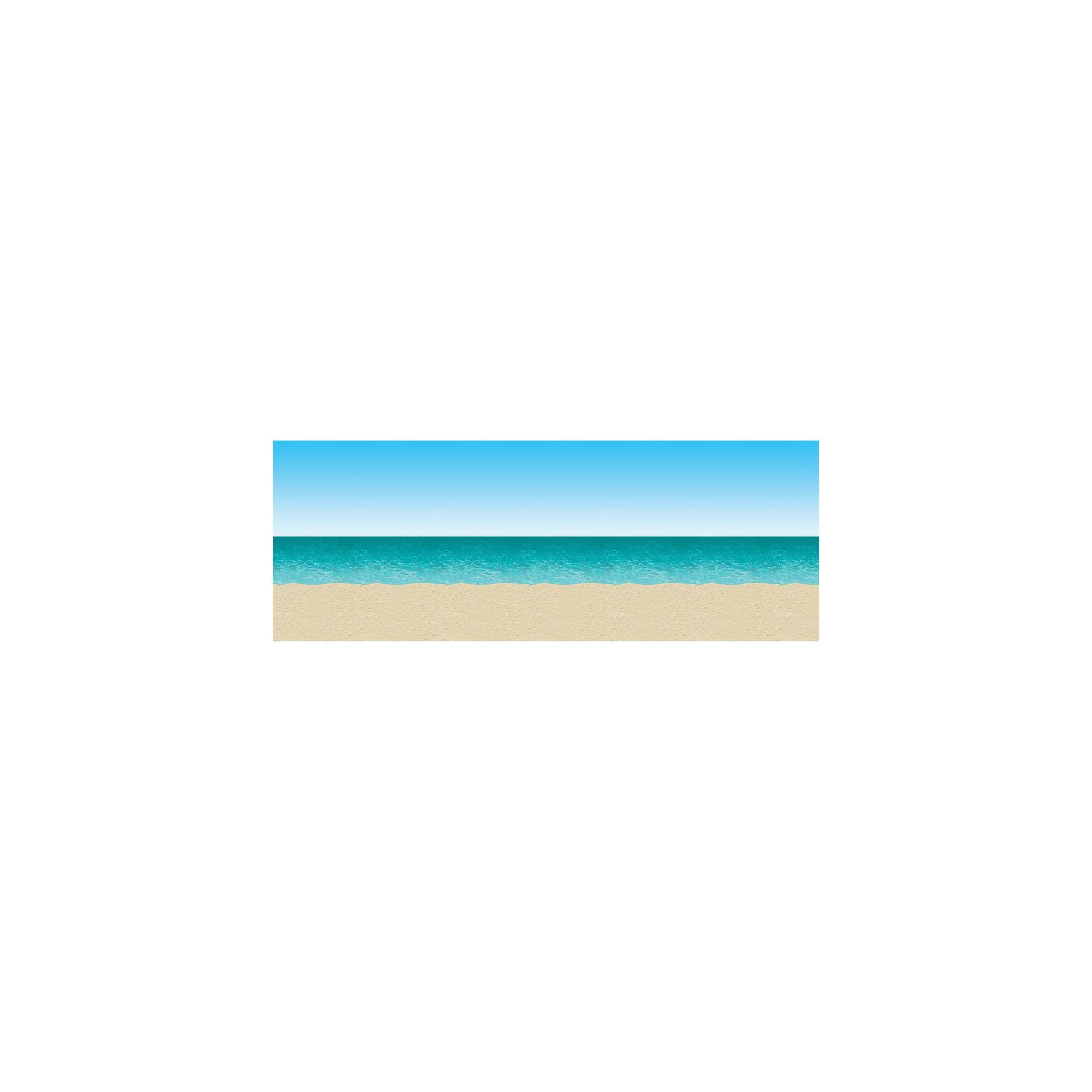 Beach Party Backdrop