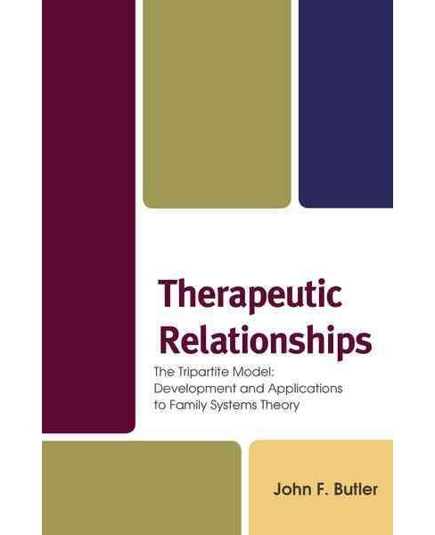 Therapeutic Relationships : The Tripartite Model: Development and Applications to Family Systems Theory - image 1 of 1