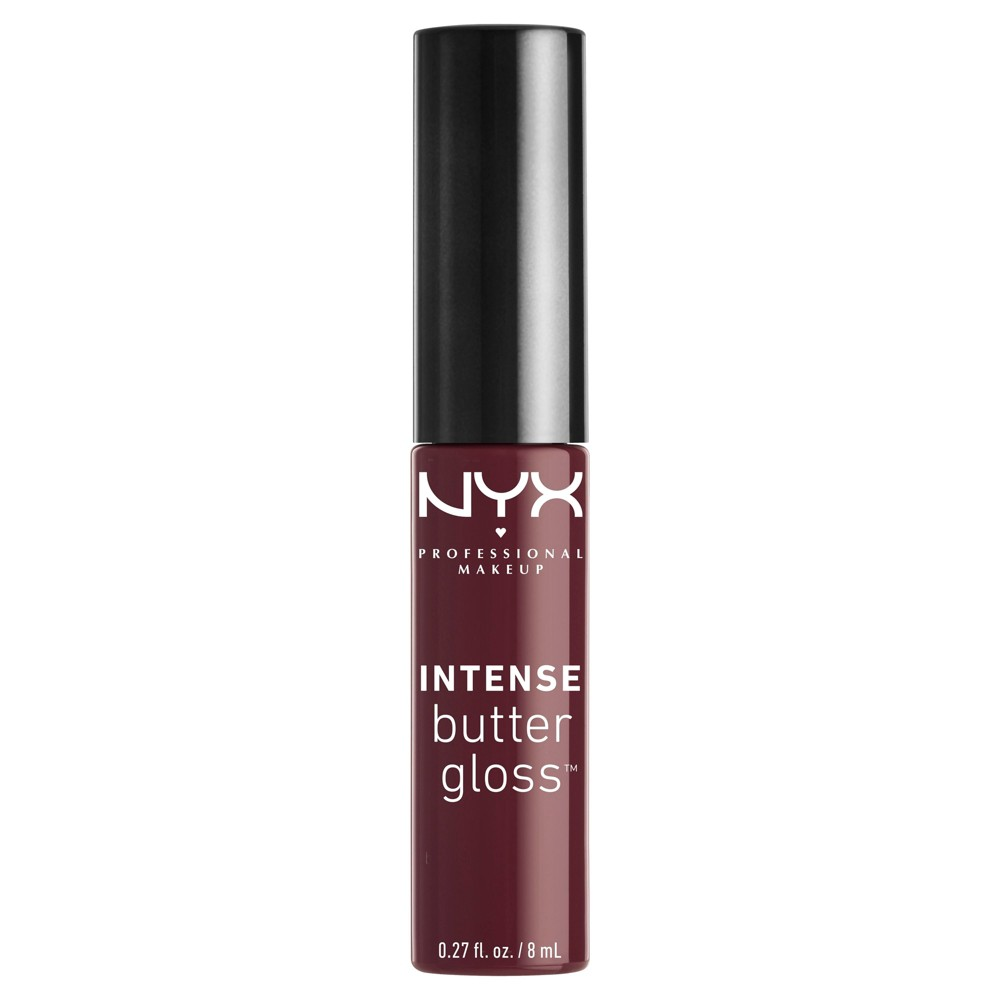 Nyx Professional Intense Butter Lip Gloss Oatmeal Raisin - 0.27floz