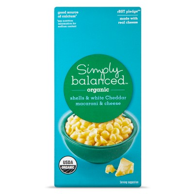 Mac & Cheese: Simply Balanced Organic