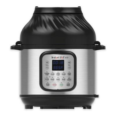 Instant Pot 6qt Crisp Pressure Cooker Air Fryer - Silver