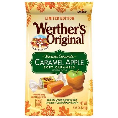 Werther's Original Halloween Caramel Apple Soft Caramels - 8.57oz