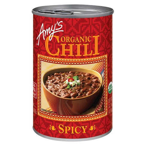 Amy's Organic Spicy Chili 14.7 oz - image 1 of 4