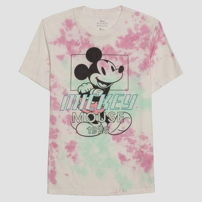 Men's Disney Mickey Mouse Short Sleeve Graphic Crewneck T-Shirt - White
