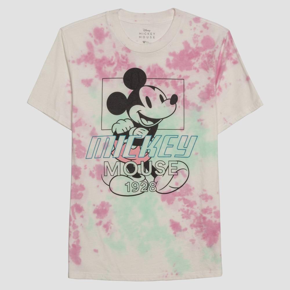 Men 39 S Disney Mickey Mouse Short Sleeve Graphic Crewneck T Shirt White 2xl