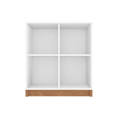 Cornelia Low Bookcase - Manhattan Comfort