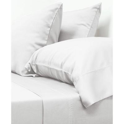 California King 100% Rayon from Bamboo Classic Sheet Set White - Cariloha