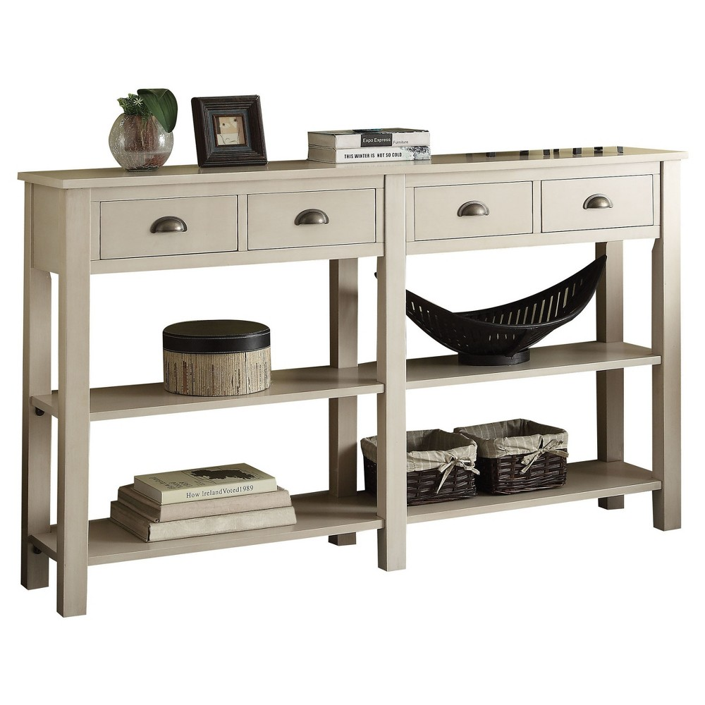 Console Table Cream (Ivory)
