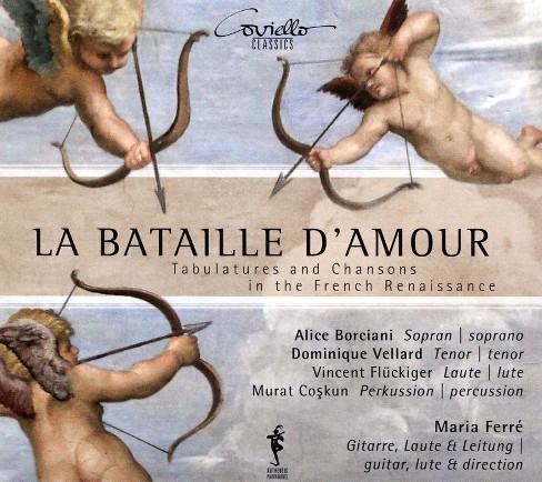 Alice borciani - La bataille d'amour (CD) - image 1 of 1