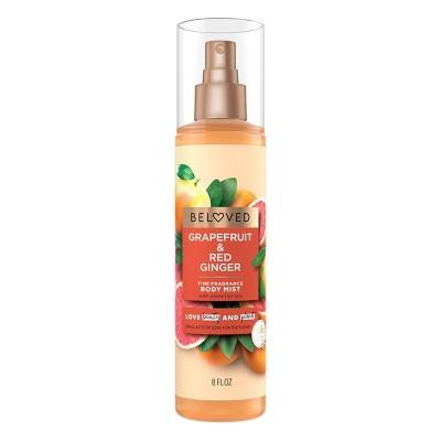 Beloved Grapefruit Oil & Red Ginger Body Mist - 8 fl oz